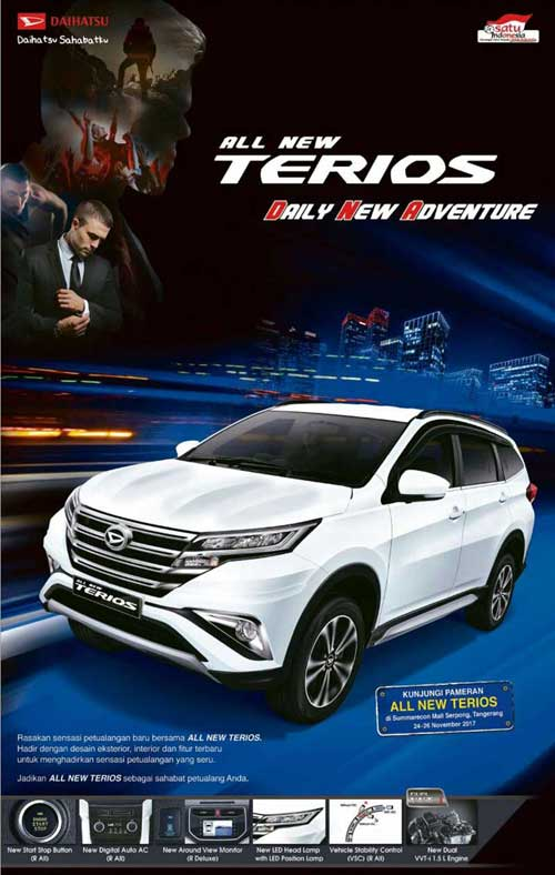 3. All New Terios